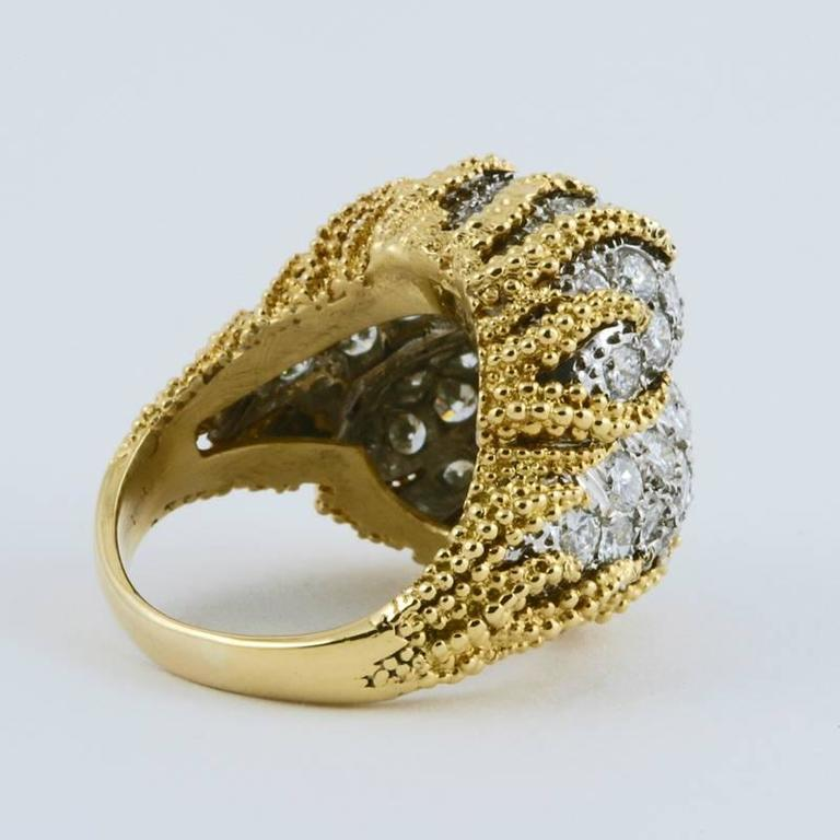 1960 s gold and platinum ring for sale at 1stdibs