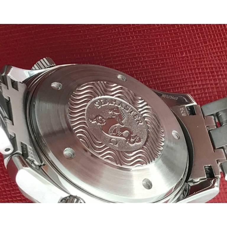 Omega Stainless Steel Seamaster Professional Chronograph Automatic Wristwatch For Sale 4