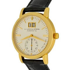 A. Lange & Söhne Yellow Gold Langematik Automatic Wristwatch