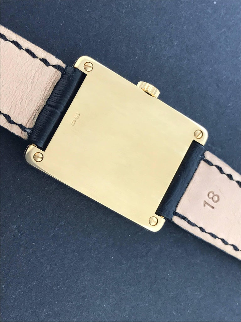 Patek Philippe Yellow Gold Gondolo Manual Wind Wristwatch Ref 5010 In Excellent Condition For Sale In Dallas, TX