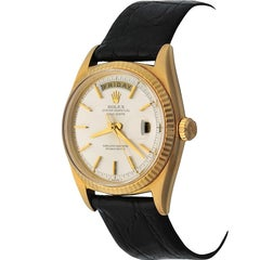 Rolex Yellow Gold President Day-Date Oyster Automatic Wristwatch Ref 1803