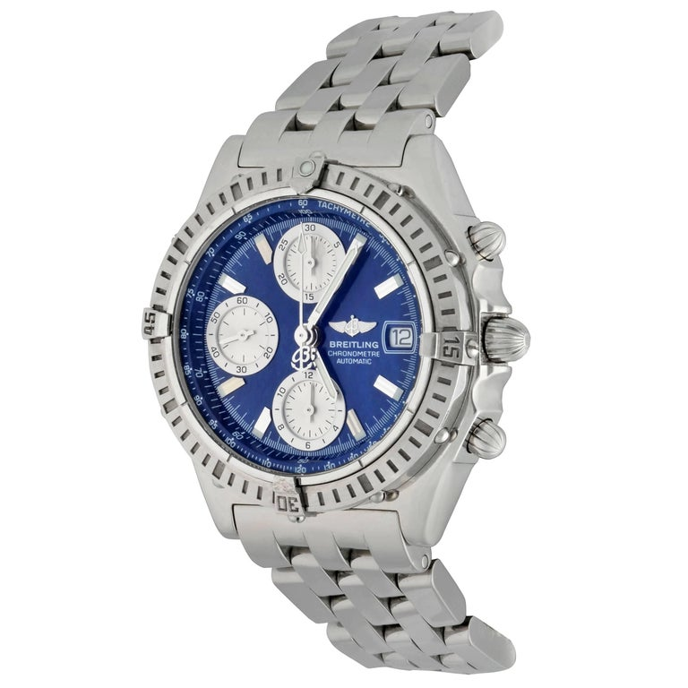 Breitling Stainless Steel Chronomat Automatic Wristwatch