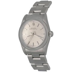 Rolex Stainless Steel Oyster Perpetual Midsize Automatic Wristwatch Ref 77080