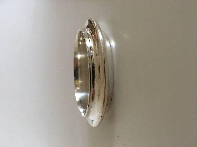 Hans Hansen Sterling Silver Bangle Bracelet 2