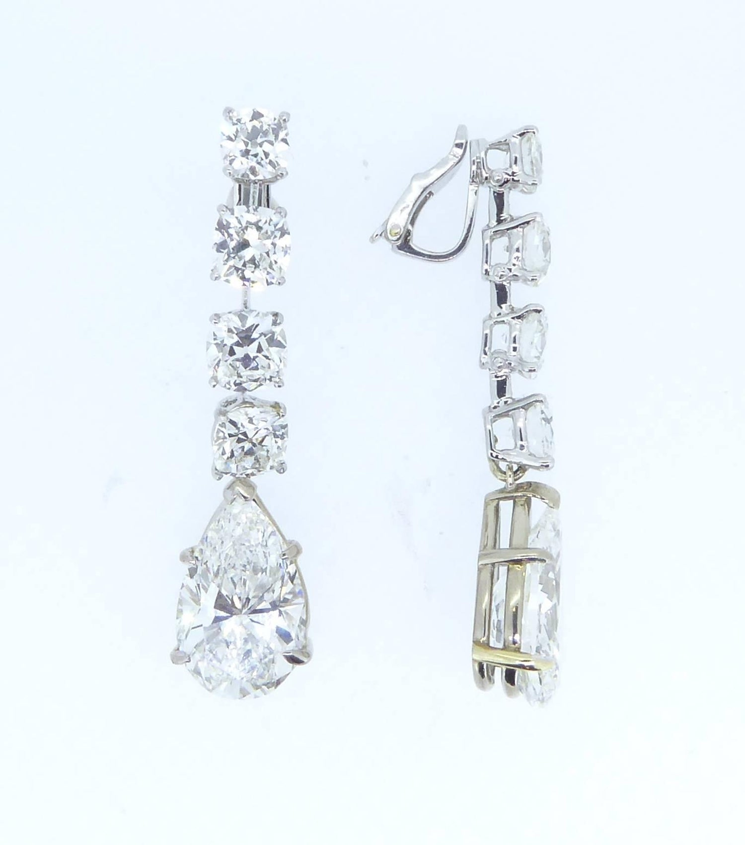 shape shaped diamond earrings wave rectangular jewellery products unique gold new heart sale diamonds
