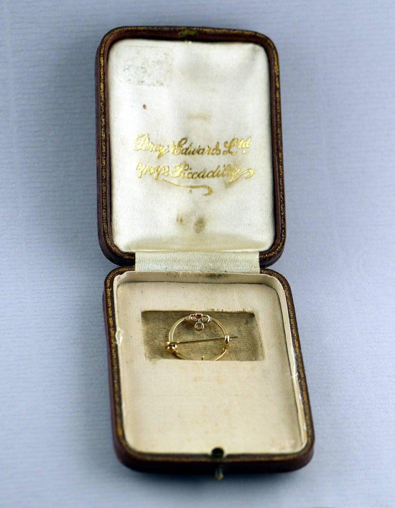 Belle Époque Guilloché Enamel Diamond Pearl Pendant For Sale 5