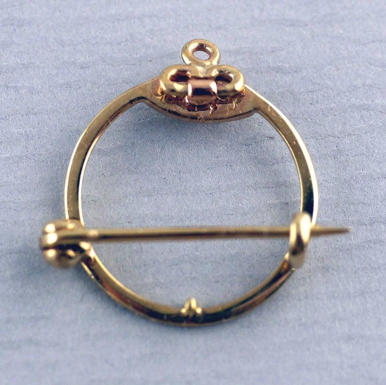 Belle Époque Guilloché Enamel Diamond Pearl Pendant 9