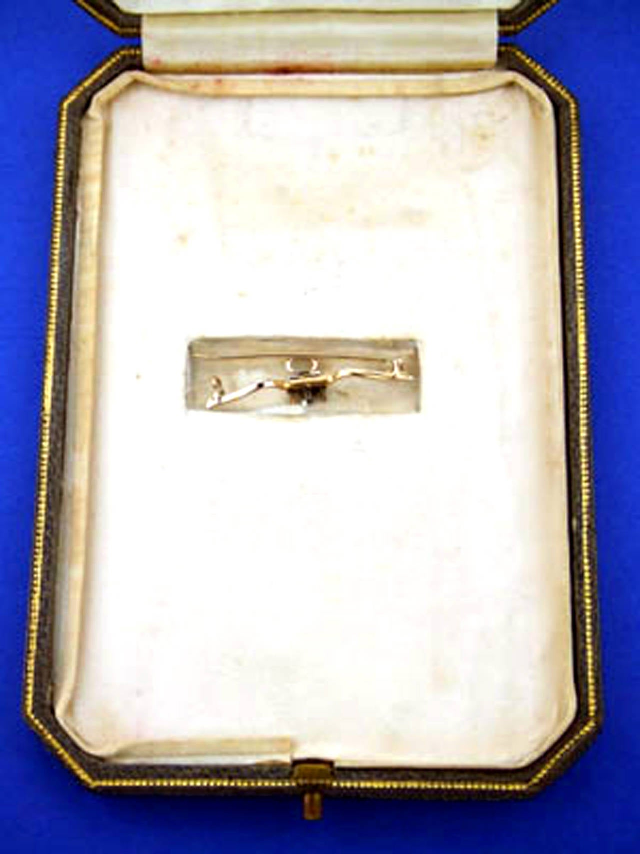 Victorian Emerald Diamond Pendant or Brooch, circa 1860 8