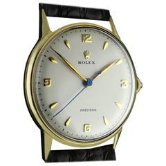 Rolex Yellow Gold Precision Wristwatch, circa 1958