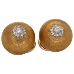 Buccellati Bombe Earrings with Diamonds