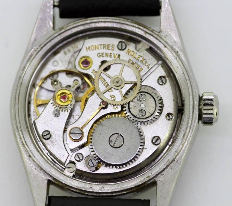 Rolex Oysterdate Precision - Manual Winding Wristwatch, circa 1960s For Sale 6