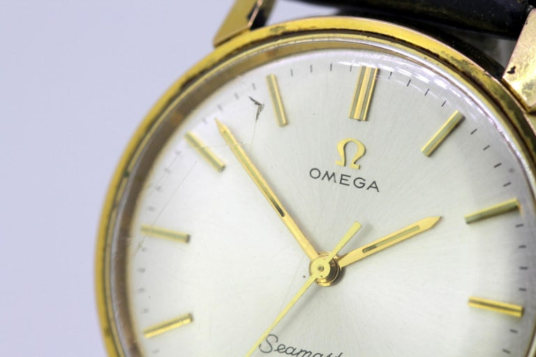 Omega Seamaster 600, Vintage Manual Winding Men's Wristwatch, circa 1960s For Sale 1