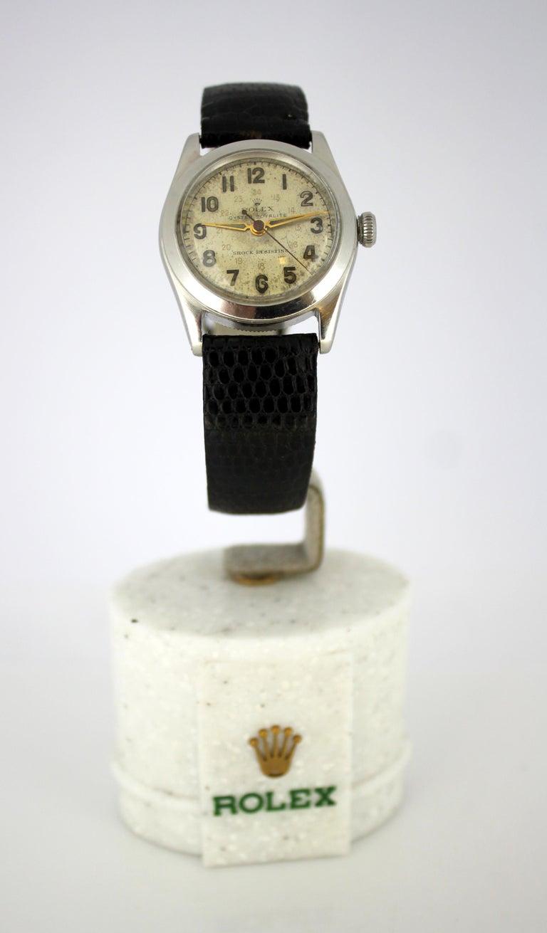 Vintage unisex Rolex Oyster Royalite, circa 1950s
