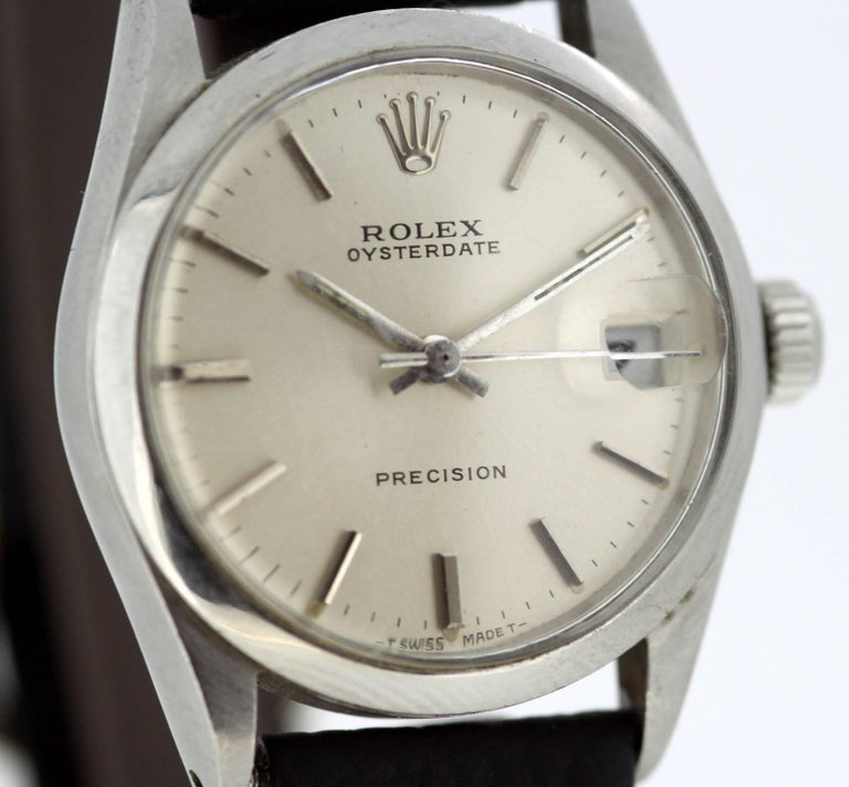 Rolex Oysterdate Precision - Manual Winding Wristwatch, circa 1960s In Excellent Condition For Sale In Braintree, GB