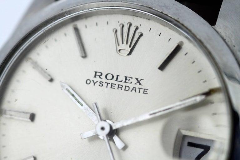 Men's Rolex Oysterdate Precision - Manual Winding Wristwatch, circa 1960s For Sale