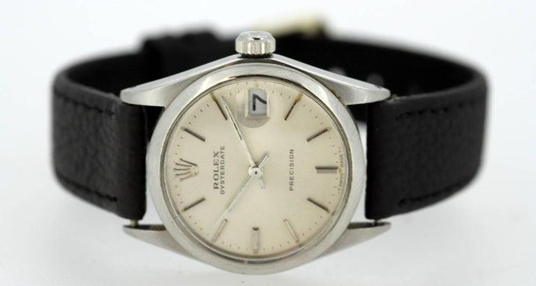 Rolex Oysterdate Precision - Manual Winding Wristwatch, circa 1960s For Sale 2