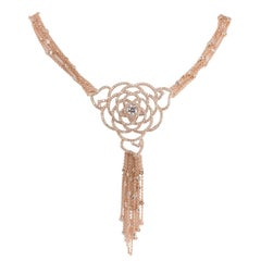 950 Siledium Silver Rose Gold Plating Desert Necklace by Feri