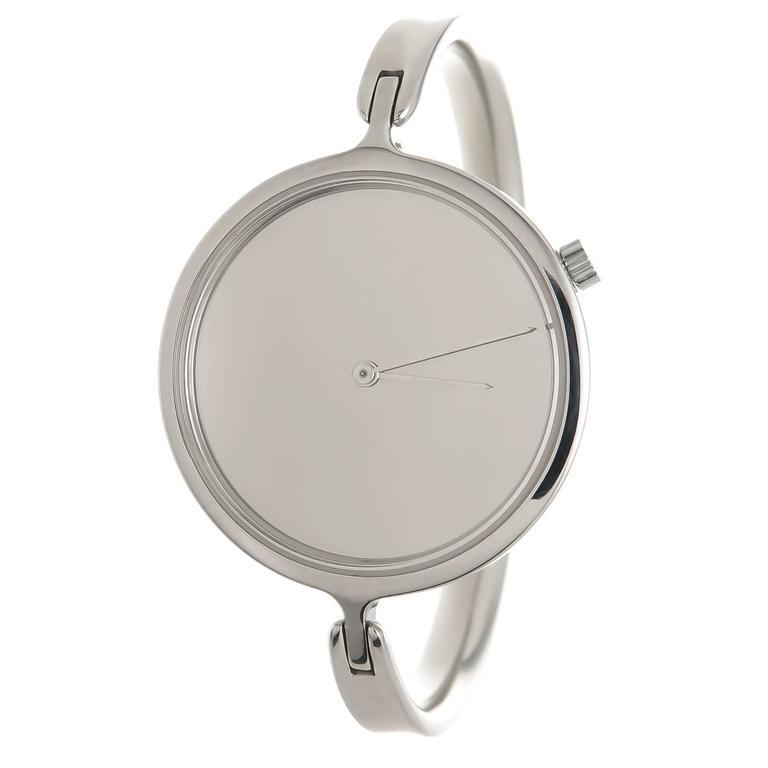 Georg Jensen Ladies Stainless Steel 327 Vivianna Bangle Quartz Wristwatch 4