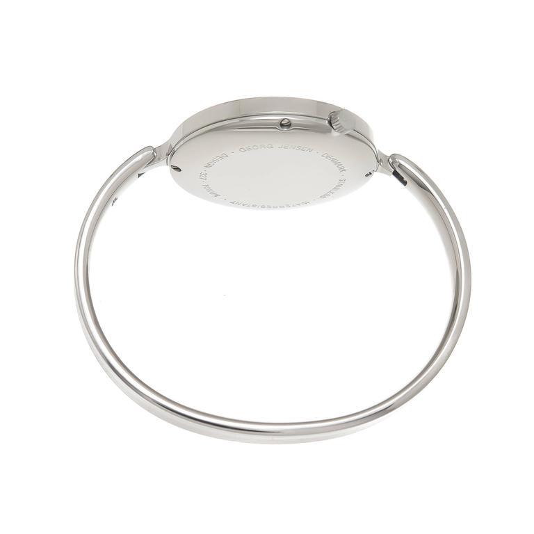 Georg Jensen Ladies Stainless Steel 327 Vivianna Bangle Quartz Wristwatch 2