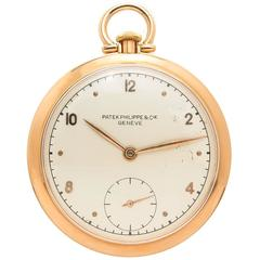 Patek Philippe Rose Gold Pocket Watch