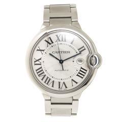 Cartier Ballon Bleu Large Steel Automatic Wrist watch