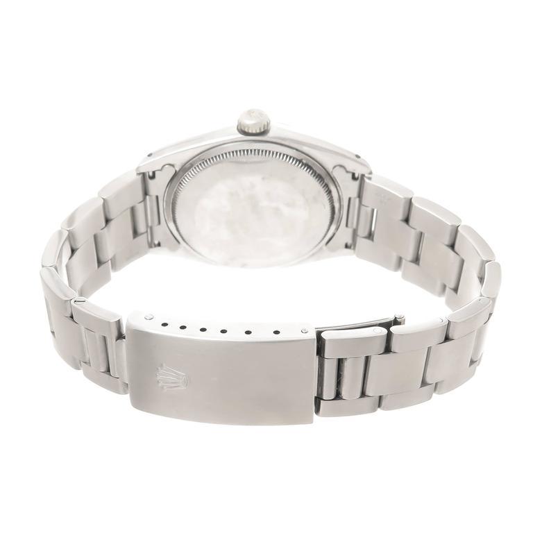 Rolex Steel Model 1500 Gents Automatic Wristwatch Custom Dial 3