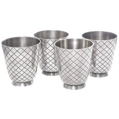 Georg Jensen Sigvard Bernadotte #819 Sterling Cocktail Cups