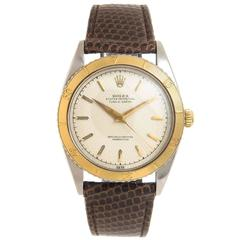 Rolex Yellow Gold Turn O Graph Thunderbird Bezel Automatic Wristwatch, 1954