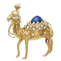 Jean Schlumberger for Tiffany & Co. Large Camel Brooch