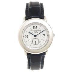 Cartier Sterling Silver Must De Cartier Quartz Wristwatch, 2010