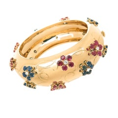 Van Cleef & Arpels Large 1940s Retro Bangle Bracelet