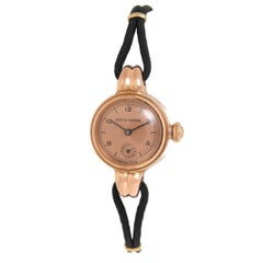 Rolex Ladies Rose Gold Oyster Manual Wristwatch, 1940s