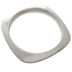 Tiffany & Co. Sterling Square Cushion Bracelet