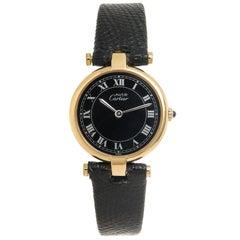 Cartier Ladies Vermeil Vendome Quartz Wristwatch