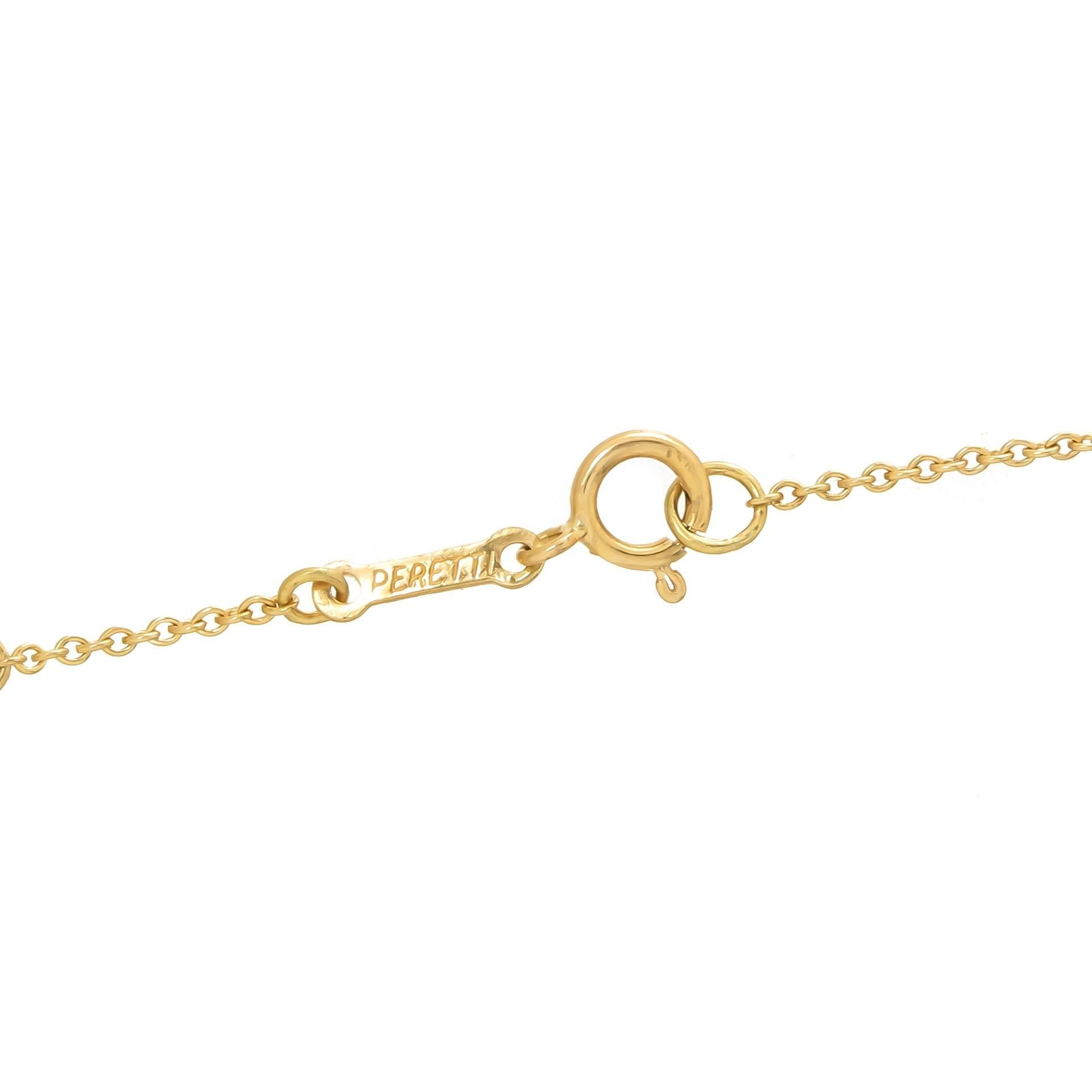 Tiffany And Co Elsa Peretti Yellow Gold Bean Bracelet For At 1stdibs