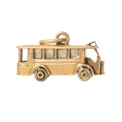 Cartier Yellow Gold Vintage Street Car Charm