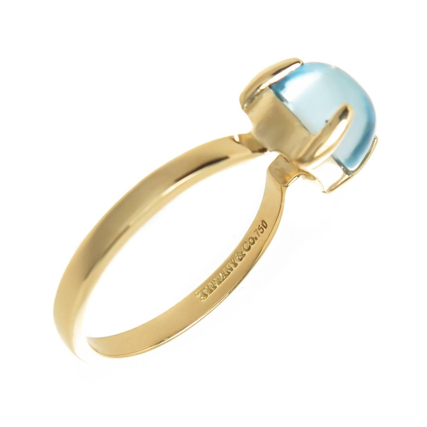 1a0fb2efd Tiffany and Co. Paloma Picasso Gold and Topaz Sugar Stacks Ring at ...