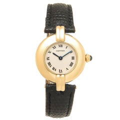 Cartier Ladies Yellow Gold Colisee Quartz Wristwatch, Circa 2000