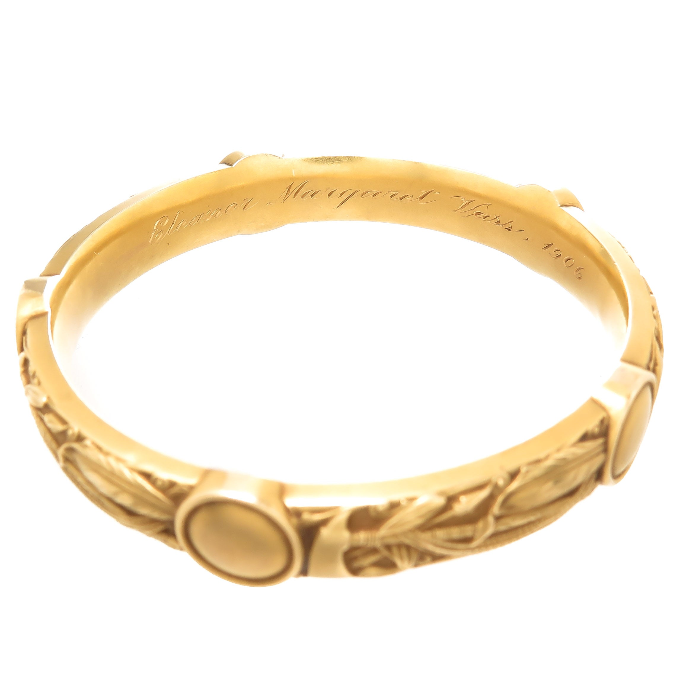 bangles bracelet product qvc page com bar inch gold mirror imperial bangle