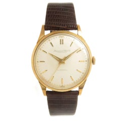 IWC Schaffhausen Gold Plate Stainless Steel Automatic Wristwatch, 1960s