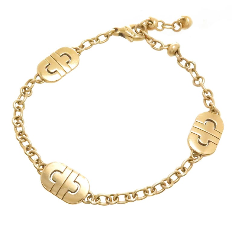 Bulgari Parentesi Yellow Gold Bracelet