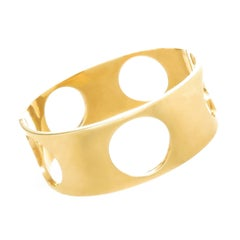 Tiffany & Co. Midcentury Gold Bangle Bracelet