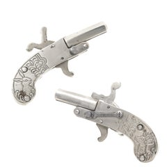 Antique Austrian Pistol Cufflinks