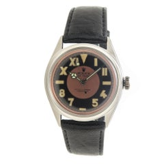 Rolex 1952 Steel Case with California Dial Automatic Wristwatch