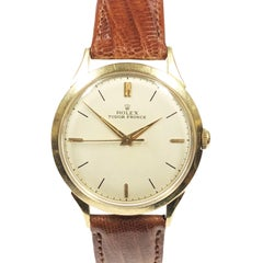 Rolex Tudor Prince Gold Filled and Steel Case Vintage Self Winding Wristwatch