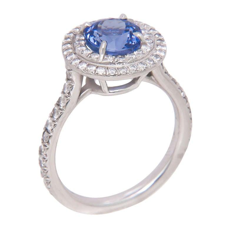4b77ba7b0 Tiffany & Company Soleste Tanzanite Ring In Excellent Condition For Sale In  Chicago, ...