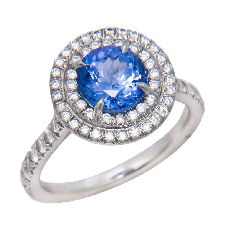 Tiffany And Company Soleste Tanzanite Ring At 1stdibs
