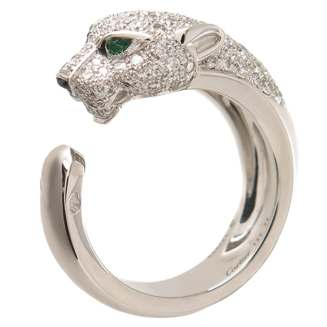 cartier gold panther ring at 1stdibs