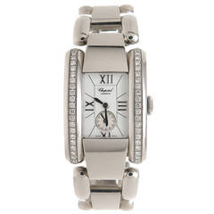 Chopard Lady's Stainless Steel La Strada Quartz Wristwatch Worn by Oprah Winfrey