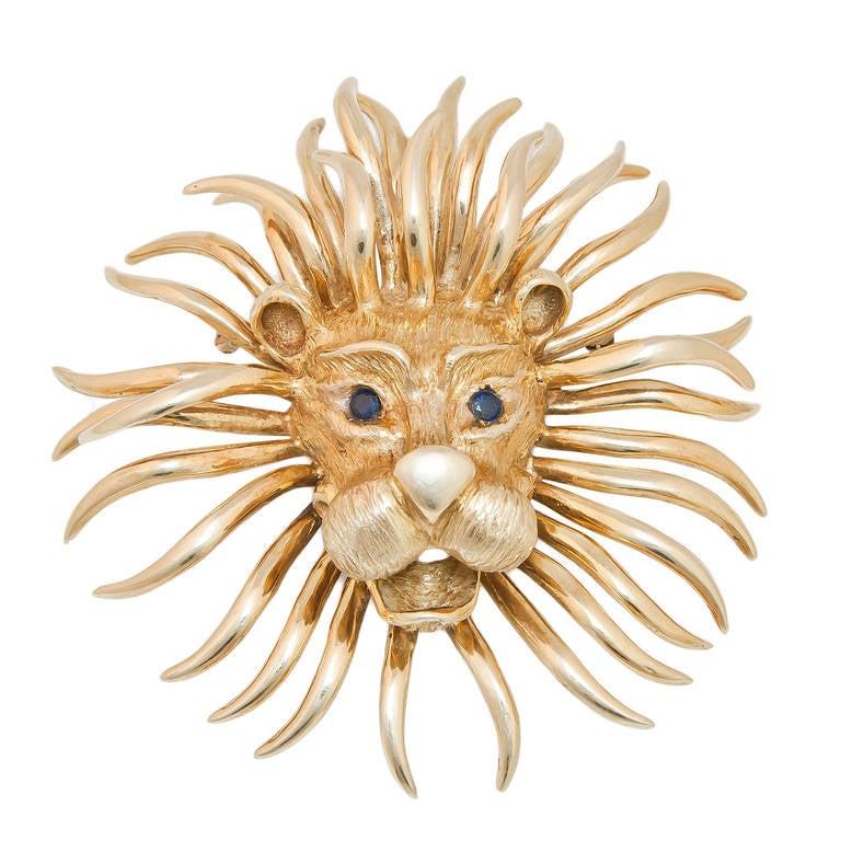 Cartier 1970s Lion Pendant 2